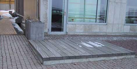 Övertäckt betongdamm