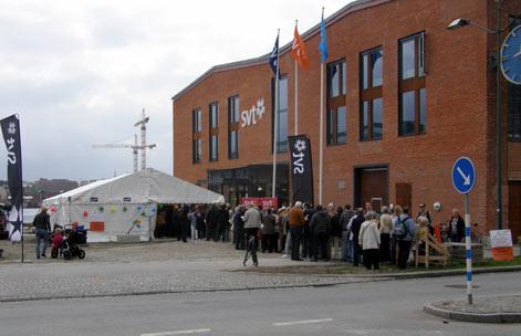 SVT: Öppet hus lockade folk