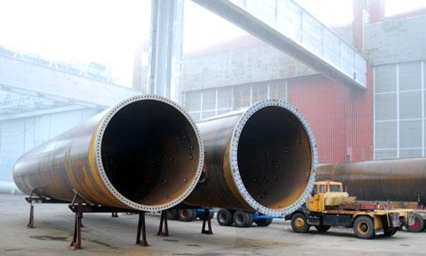 Vindkraftstornstillverkning