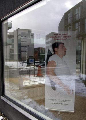 Facebook affär avsugning nära Malmö