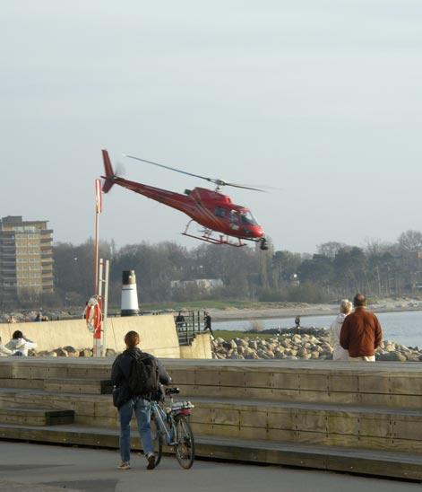 helikopter malmö