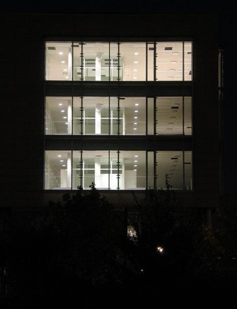 World Trade Center Malmö om natten