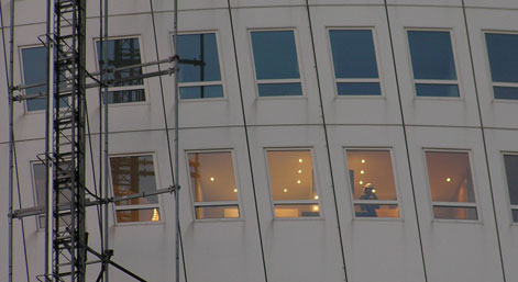 Turning Torso through the window