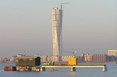 Turning Torso from a distance